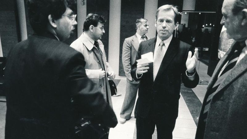 Václav Havel, photo: Radan Boček, Post Bellum