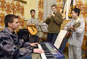 Music therapy in Boletice, photo: CTK