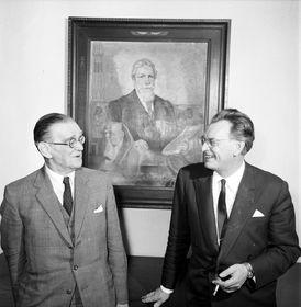 Jaroslav Černý y Zbyněk Žába, foto: Archivo del Instituto Checo de Egiptología