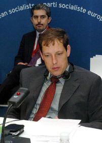 Stanislav Gross en Madrid (Foto: CTK)