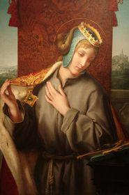 La sainte Agnès
