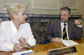Milada Emmerová aFrantišek Bublan, foto: ČTK