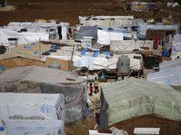 Syrian refugee camp in Hosh Hareem, Lebanon, photo: CTK