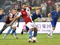 Slavia Praga - Dinamo Kiev, foto: Ondřej Deml/ČTK