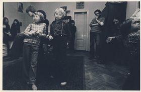 Квартира Даны Немцовой на Ечной улице в Праге в 1970-х годах была центром неформальной культуры, где проходили лекции, устраивались чтения, концерты и вечеринки, фото из личного архива, Post Bellum