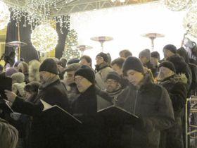 Die Böhmische Hirtenmesse erklang auf dem Altstädter Ring (Foto: Martina Schneibergová)