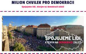 """Webseite der Initiative """"Eine Million Augenblicke für die Demokratie"""""""