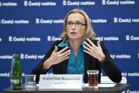 Kateřina Konečná, foto: Filip Jandourek, archiv ČRo