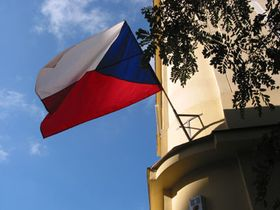 La bandera tricolor checa celebra hoy su 85 aniversario.