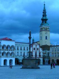 Mariensäule auf dem Hauptplatz in Nový Jičín (Foto: Jitka Mládková)