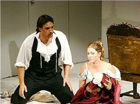La nozze di Figaro, Kateřina Kněžíková et Adam Plachetka, photo: Le Théâtre National