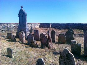 El cementerio judío en Police, foto: Michal Malý