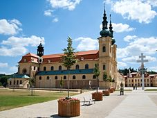 Mariä Himmelfahrtskirche in Velehrad (Foto: Bjalek Michal, CC BY-SA 3.0)