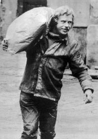В. Гавел в пивоваренном заводе (Фото: ЧТК)