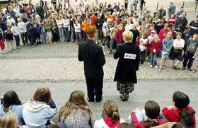 На пражской площади Мира (Фото: ЧТК)