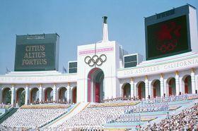 Las Olimpiadas de Los Ángeles (1984), foto: public domain