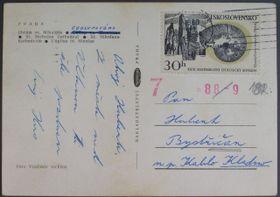 Une carte de Jan Palach, photo: Archives d'ABS