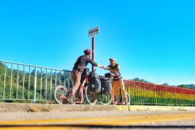 En la frontera Argentina-Paraguay, foto: Archivo personal de Marek Jelínek
