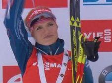 Gabriela Soukalová, photo: Czech Television