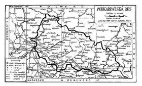 Karpaten-Ukraine (Quelle: Wikimedia CC BY 3.0)