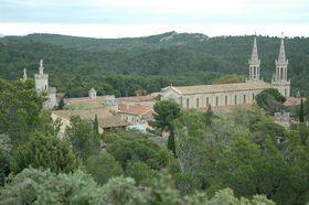 Während des Ersten Weltkriegs dienten die Gebäude des Klosters Saint-Michel de Frigolet als Gefangenenlager (Foto: Aleks, Wikimedia CC BY-SA 3.0)