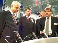 Vladimir Spidla à la foire de l'armement IDET, photo: CTK