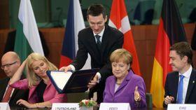 Подписание договора об ассоциации Грузии и Молдовы с ЕС (Фото: ЧТК)