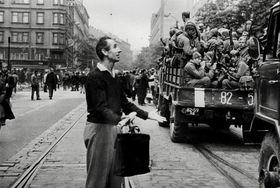 Фотография Милона Новотного, август 1968 г., фото: выставка Sovětská invaze - srpen 1968