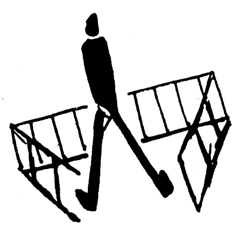 Un dessin de Franz Kafka, source: public domain