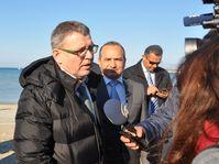 Lubomír Zaorálek en Turquie, photo: ČTK