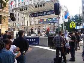 Czech Street Festival in New York, photo: Milena Štráfeldová