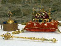 Joyas de la Corona Checa en el Castillo de Praga, foto: CTK