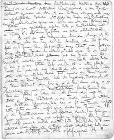 Handschrift Kafkas