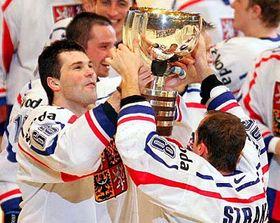 Hockeyistas checos - campeones del mundo (Foto: CTK)