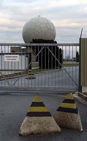 Radar protivzdušné obrany, foto: ČTK