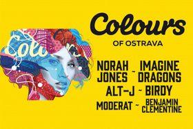 Póster oficial de Colours of Ostrava 2017