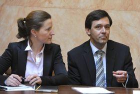 Karolína Peake amístopředseda SNK Evropských demokratů Jiří Witzany, foto: ČTK