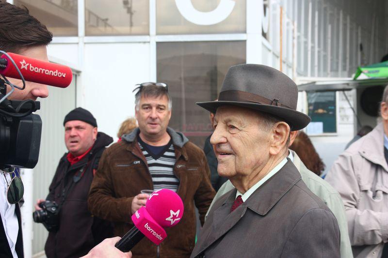 бывший генсек КПЧ Милош Якеш, фото: Штепанка Будкова