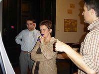 Marián Bradač (links) und Helena Hradílková (Foto: www.oei.cz)