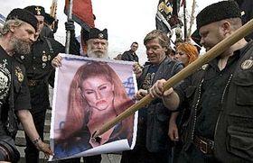 Protesty věřících vMoskvě, foto: ČTK