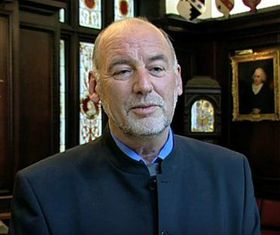 Nigel Peace, photo:  YouTube channel The People's Book Prize