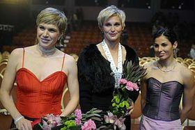 Kateřina Neumannová, Barbora Špotáková and Kateřina Baďurová, photo: CTK