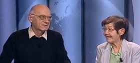 Václav Hanák und Marie Stříbrná (Foto: ČT24)
