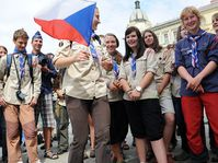 Czech scouts, photo: Filip Jandourek