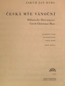 Чешская рождественская месса Я.Я.Рыбы, Фото: Архив Радио Прага