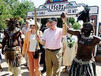 Vaclav Klaus et son épouse Livia en République d'Afrique du Sud, photo: CTK