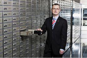 Vladimír Tomšík, photo: Archives de ČNB