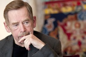 Václav Havel, photo: Filip Jandourek / Czech Radio