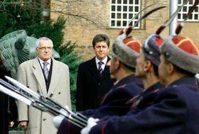 Vaclav Klaus en Bulgaria  (Foto: CTK)