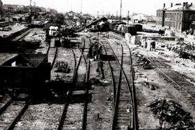 Los Aliados estadounidenses bombardearon la ciudad de Cheb, foto: ČT24
